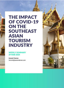 The Impact of COVID-19 On The Southeast Asian Tourism Industry